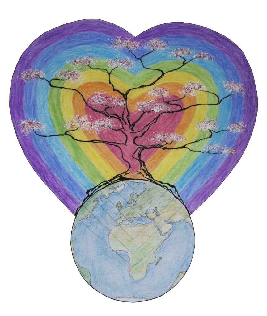 Logo projektu Láska Fukušimě